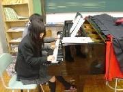 音楽室 ピアノ