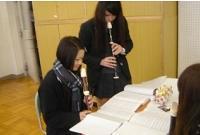 音楽室 笛